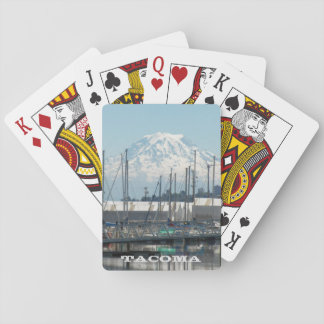 Tacoma, Washington Travel Photo Postcard Playing Cards