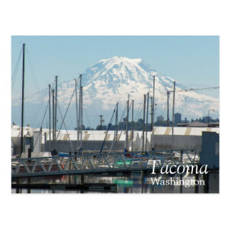 Tacoma, Washington Travel Postcard