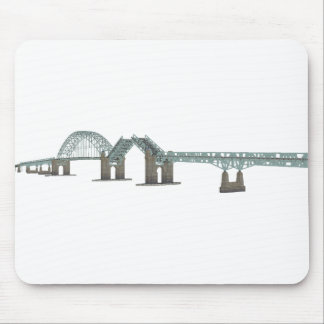 Tacony Palmyra Bridge: 3D Model: Mouse Pad