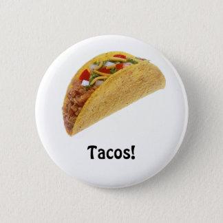 Tacos! 6 Cm Round Badge