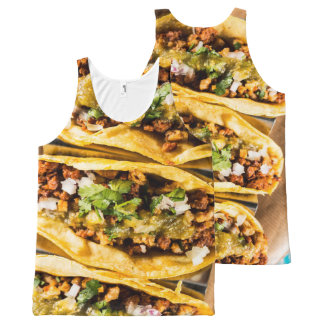 Tacos All-Over Print Singlet