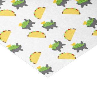 Tacos and Guacamole Tissue Paper