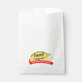 Tacos and Tequila Party Favour Bag