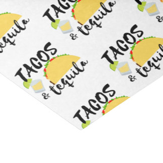 Tacos and Tequila Tissue Paper