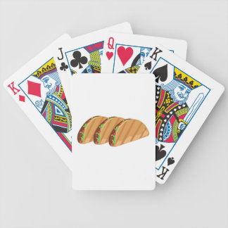 Tacos Bicycle Playing Cards