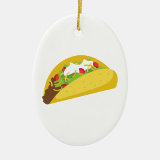 Tacos Ceramic Ornament