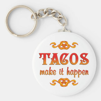 Tacos Keychains