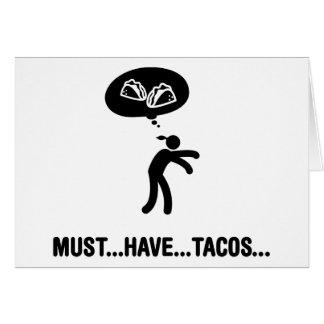 Tacos Lover Card