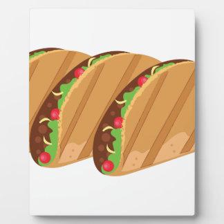 Tacos Plaque