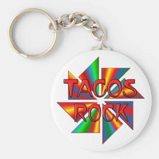 TACOS ROCK KEYCHAIN