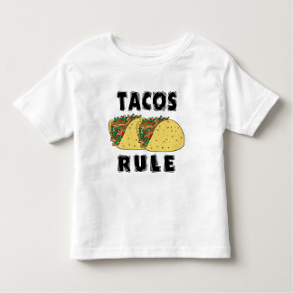 Tacos Rule Toddler Toddler T-Shirt