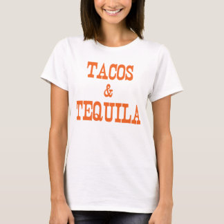 Tacos & Tequila T-Shirt, Statement Tee
