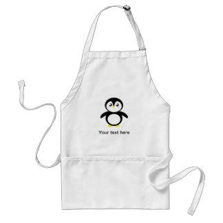 Tad the Penguin Standard Apron