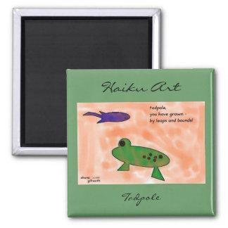 Tadpole Haiku Art Magnet