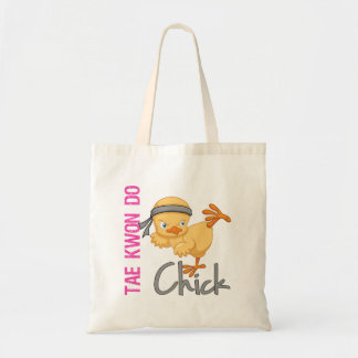 Tae Kwon Do Chick Canvas Bags