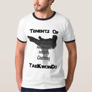 Tae Kwon Do Traditional Tenets T-Shirt