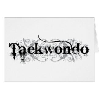Taekwondo (bc) card