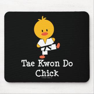 Taekwondo Chick Mousepad