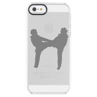 Taekwondo Clear iPhone SE/5/5s Case