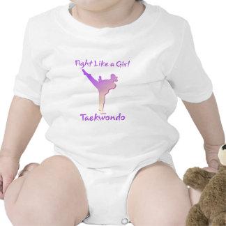 Taekwondo Girl Tshirt