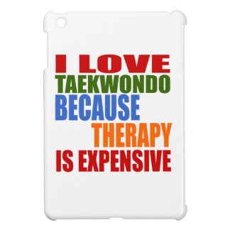 Taekwondo Is My Therapy iPad Mini Cover