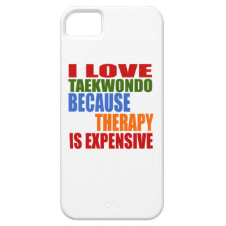 Taekwondo Is My Therapy iPhone 5 Cases