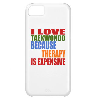 Taekwondo Is My Therapy iPhone 5C Case