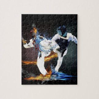 taekwondo jigsaw puzzle