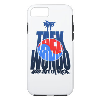 Taekwondo Mountain Fight - Art iPhone 7 Case