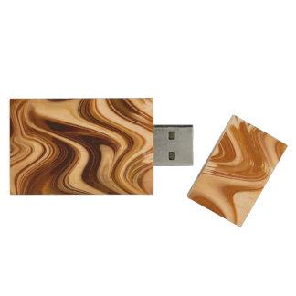 Taffy Pull USB Flash Drive Wood USB 2.0 Flash Drive