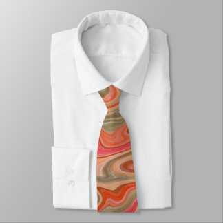 Taffy Swirl Men's Tie