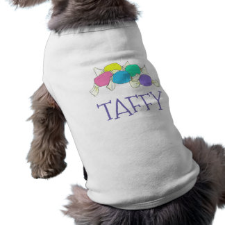 Taffy the Dog Boardwalk Salt Water Candy Beach Shirt