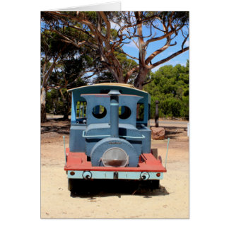 Taffy, Train Engine Locomotive 2 Card