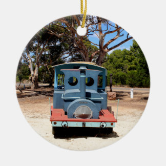 Taffy, Train Engine Locomotive 2 Ceramic Ornament