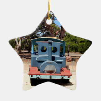 Taffy, Train Engine Locomotive 2 Ceramic Ornament