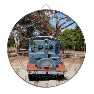 Taffy, Train Engine Locomotive 2 Dartboard