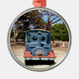 Taffy, Train Engine Locomotive 2 Metal Ornament