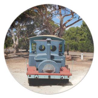 Taffy, Train Engine Locomotive 2 Plates