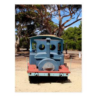 Taffy, Train Engine Locomotive 2 Postcard