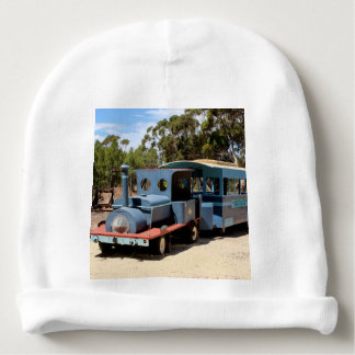 Taffy, train engine locomotive baby beanie