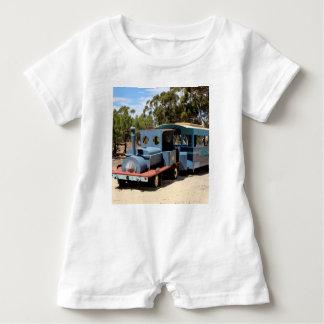 Taffy, train engine locomotive baby bodysuit