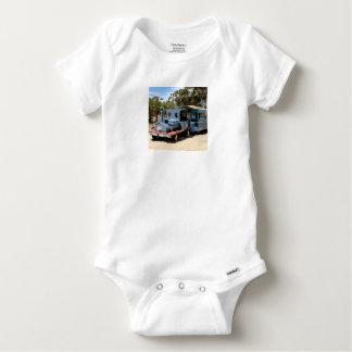 Taffy, train engine locomotive baby onesie
