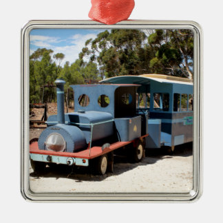 Taffy, train engine locomotive metal ornament