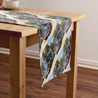 Taffy, train engine locomotive short table runner