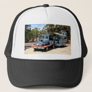 Taffy, train engine locomotive trucker hat