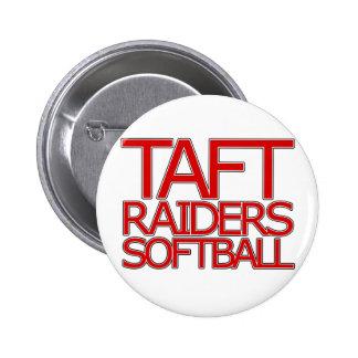 Taft Raiders Softball - San Antonio Pinback Buttons