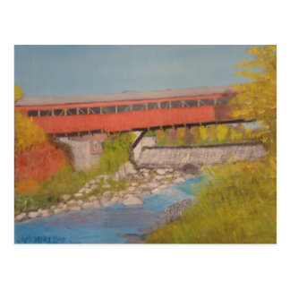Taftsville Covered Bridge IV Postcard