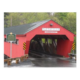 Taftsville Covered Bridge, Vermont Postcard