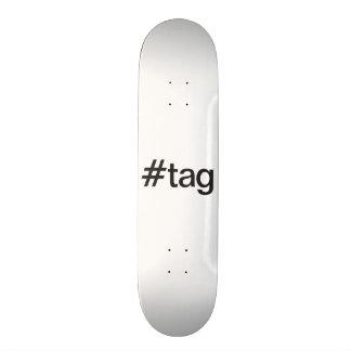 tag 18.1 cm old school skateboard deck