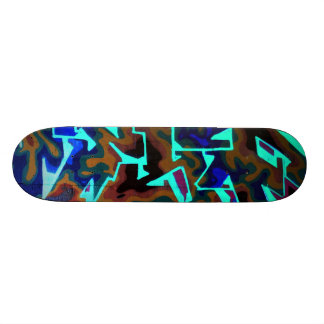 Tag 2 21.6 cm old school skateboard deck